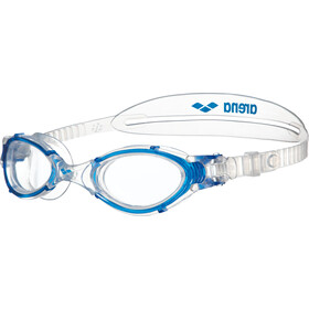 arena Nimesis Crystal Lunettes de natation Medium, clear-clear-blue